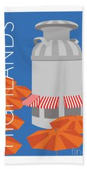 Denver Highlands/blue Hand Towel