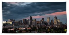 Denver Nights Bath Towel