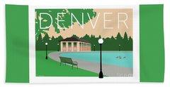 Denver Washington Park/beige Hand Towel