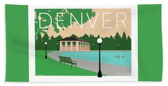Denver Washington Park/beige Bath Towel