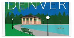 Denver Washington Park Hand Towel