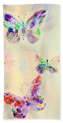 Departure In Purpose And Life As You Are By Lisa Kaiser Bath Towel