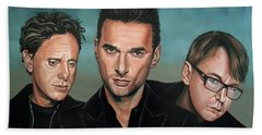 Depeche Mode Painting Hand Towel
