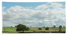 Derbyshire Landscape Bath Towel