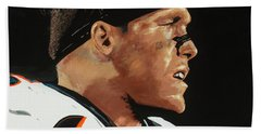 Derek Wolfe Bath Towel