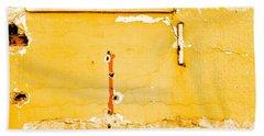 Derelict Building Wall Bath Towel