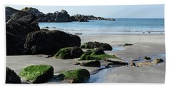 Derrynane Beach Bath Towel by Marie Leslie