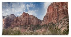Descent Into Zion Hand Towel