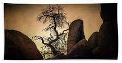 Desert Bonsai II Bath Towel