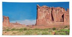 desert Butte Hand Towel by Walter Colvin