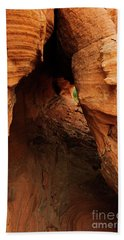 Desert Cavern Bath Towel