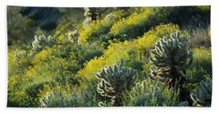 Desert Color And Light Bath Towel by Sue Cullumber