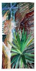 Desert Conservatory Bath Towel by Mindy Newman