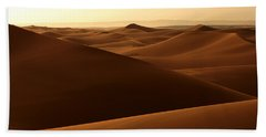 Desert Impression Hand Towel by Ralph A  Ledergerber-Photography