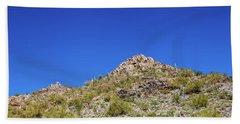 Desert Mountaintop Bath Towel by Ed Cilley