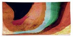 Desert Night-abstract Art By Linda Woods Bath Towel