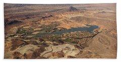 Desert Oasis Near Las Vegas Bath Towel by Kathy M Krause