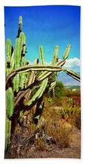 Desert Plants - Westward Ho Bath Towel