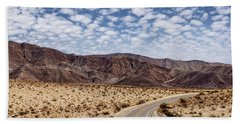 Desert Road 5 Hand Towel