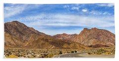 Desert Road 6 Hand Towel