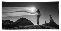 Desert Sail Hand Towel
