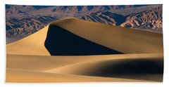 Desert Sand Bath Towel by Mike Dawson