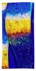 Bath Towel featuring the photograph Desert Sky 1 by Paul Wear