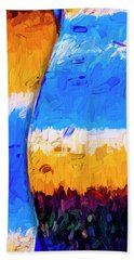Hand Towel featuring the photograph Desert Sky 3 by Paul Wear