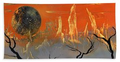 Desert Sunset Hand Towel