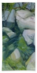 Desert Swim Hand Towel by Mary Hubley