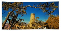 Desert View Watchtower, Grand Canyon National Park, Arizona Hand Towel