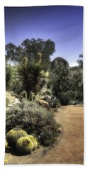 Desert Walkway Bath Towel by Lynn Geoffroy