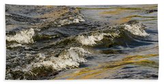 Desert Waves Bath Towel