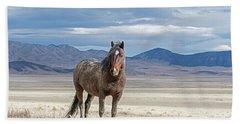 Desert Wild Horse Bath Towel