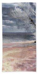 Deserted Beach Bath Towel by Pennie  McCracken