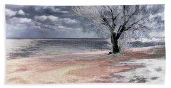 Deserted Beach Hand Towel by Pennie  McCracken