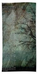 Desiderata Of Happiness - Vintage Art By Jordan Blackstone Hand Towel