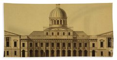 Design For Us Capitol, 1793 Hand Towel