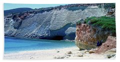 Desolated Island Beach Bath Towel