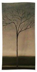 Det Lille Treet - The Little Tree Hand Towel by Tone Aanderaa
