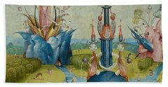 Detail From The Garden Of Earthly Delights  Central Panel Hand Towel
