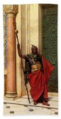 Deutsch Ludwig A Nubian Guard Hand Towel