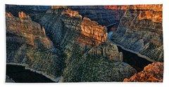 Devils Overlook Big Horn Canyon Hand Towel