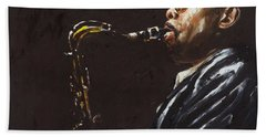 Dewey Redman Bath Towels