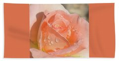 Dewy Rose Hand Towel
