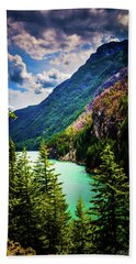 Diablo Lake Hand Towel