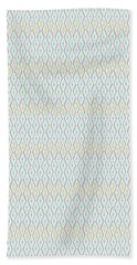 Diamond Rain Faded Gray Hand Towel