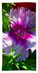 Dianthus Carnation Bath Towel