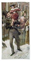 Dickens: A Christmas Carol Hand Towel