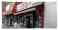 Dick's Hardware  Bath Towel by Cole Thompson